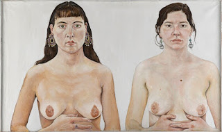 Ishbel Myerscough -Ishbel Myerscough,Chantal Joffe,'Two girls',1991.