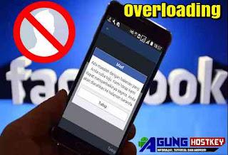 cara membuat akun facebook overload atau overrlite 2019