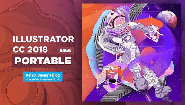 Adobe Illustrator CC 2018 PORTABLE - Không cần cài đặt
