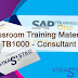 SAP Business One 9.2 Classroom Training Materials TB1000
