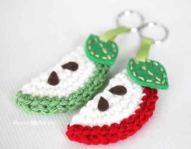 Fiber Flux Awesome Apples 10 Free Crochet Patterns