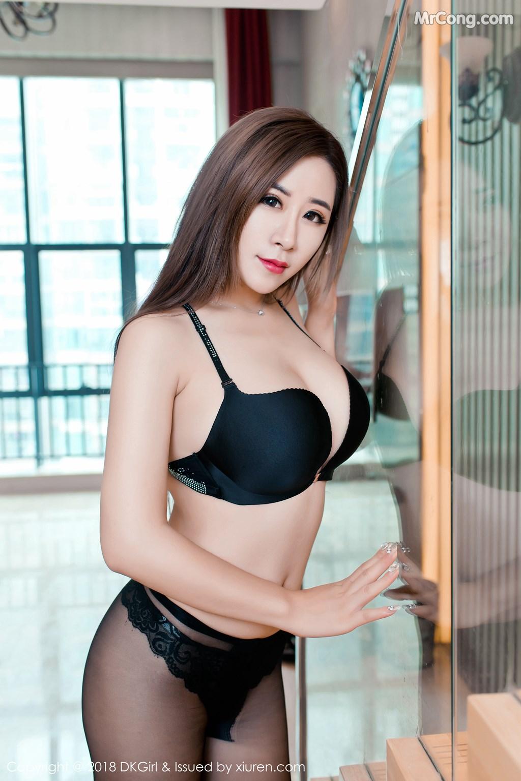 Image DKGirl-Vol.086-Cier-MrCong.com-009 in post DKGirl Vol.086: Người mẫu 雪儿Cier (47 ảnh)