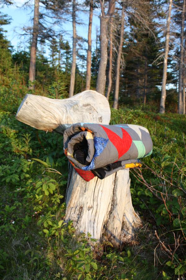 Love Birds quilt roll | DevotedQuilter.blogspot.com