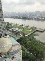 Cho thuê Ruby 1 Saigon Pearl 150m2 tầng 21 | view sông Sài Gòn và một phần công viên của dự án Vinhomes Central Park