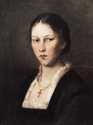 Portrait de Jeune Femme (1908), Antonie Boubong
