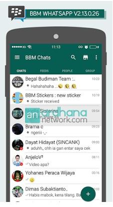 BBM Mod WhatsApp V 2.13.0.26