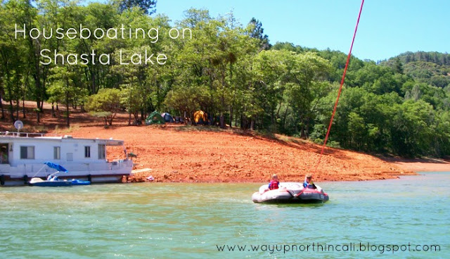 10 Tips for Houseboating WITH KIDS on Shasta Lake! www.wayupnorthincali.blogspot.com