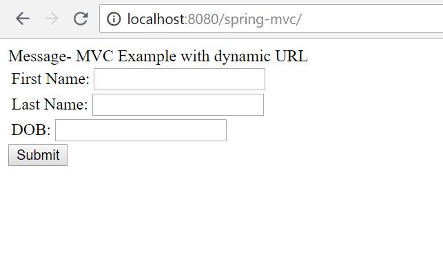 Spring MVC with @RequestParam