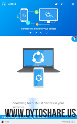 SHAREit 3.5.0.1144 for PC