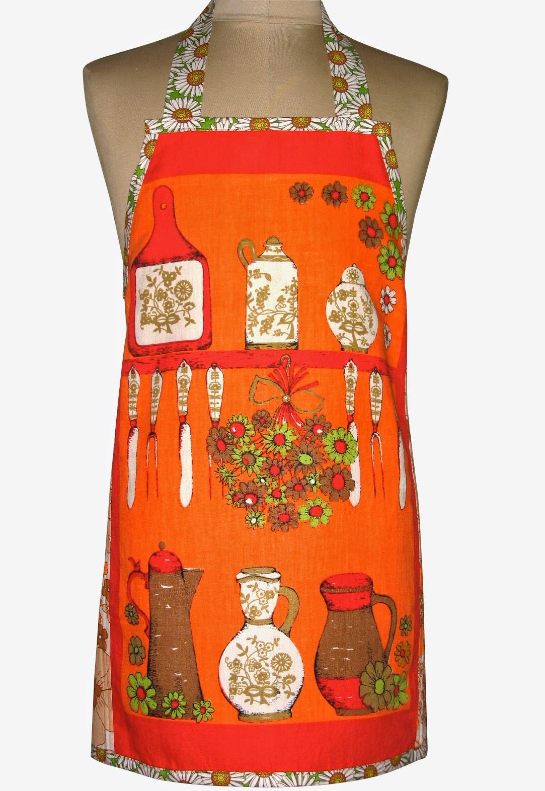 Retro Orange Kitchen Table