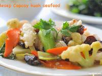 Resep dan cara membuat Capcay kuah seafood seger dan sedap