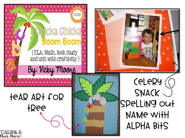 chicka chicka boom boom ideas, resources and snack