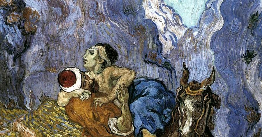 Resultado de imagen de El buen Samaritano, Van Gogh