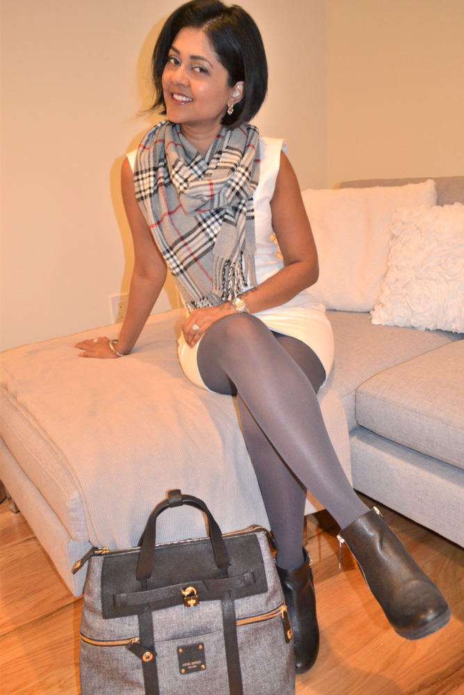 Grey no nonsense tights
