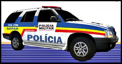 Resultado de imagem para foto viatura policial mg