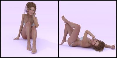 Blushing Poses for Genesis 3 Female
