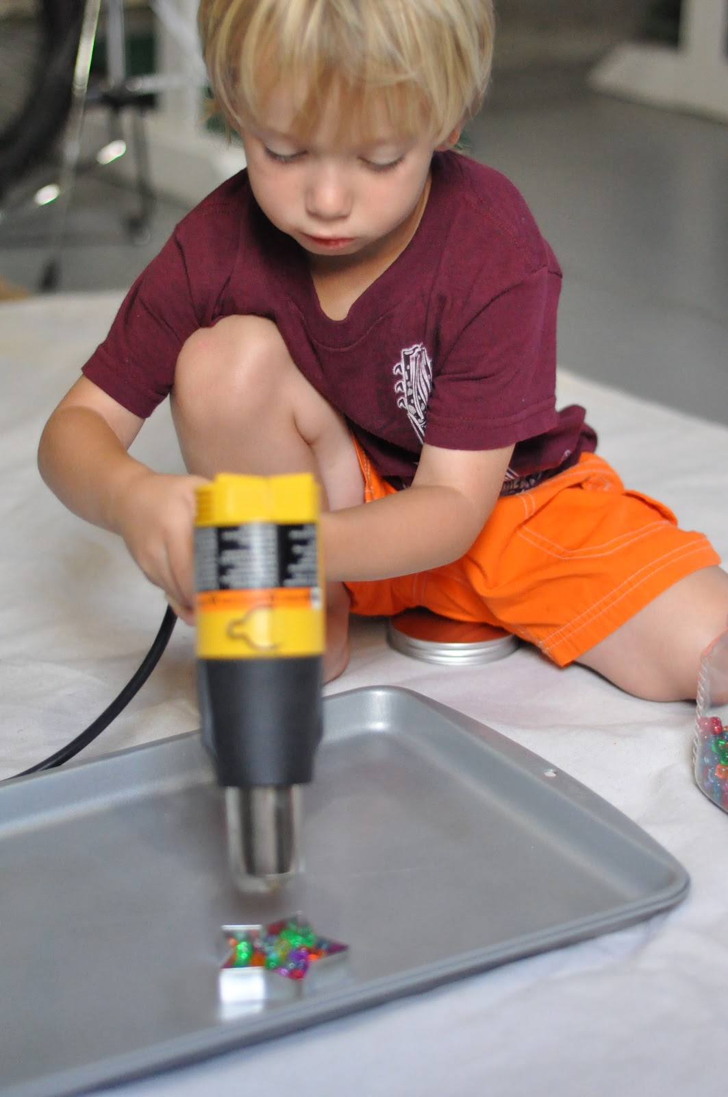 Heat Gun Ornaments Activities For Children Clay And