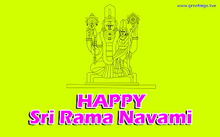 sita ramachandra swamy Happy Sri Rama navami festival Wishes