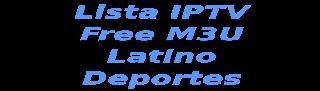 Lista iptv Latino A&E HBO ESPN Paramount