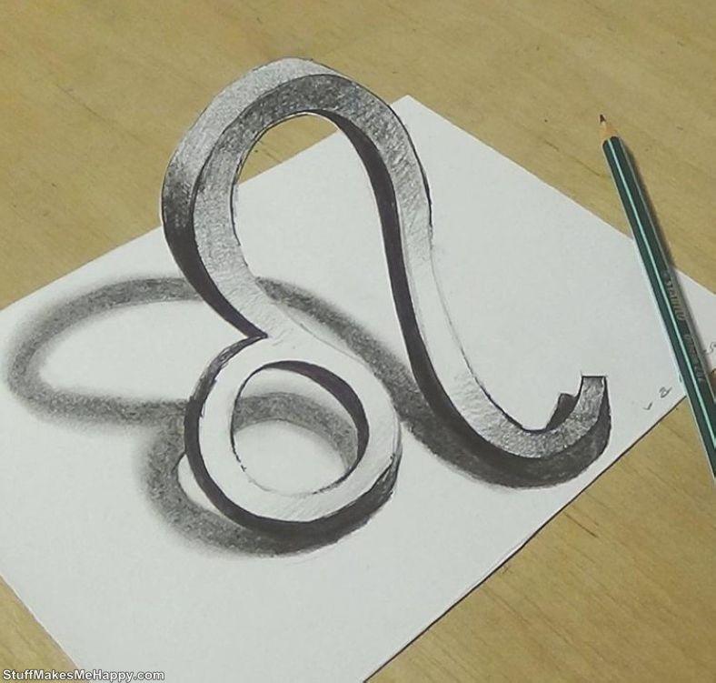 Wonderful 3D-Drawings by Sandor Vamos