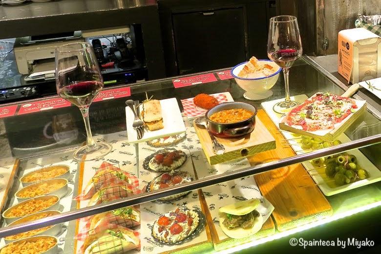 PERRETXICO バスク地方ビトリアでお洒落にピンチョスが並ぶバルカウンター