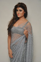 Actress Sony Charistha Latest Pos in Silver Saree at Black Money Movie Audio Launch  0001.jpg