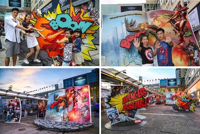 Super Hero Summer at Harbour City