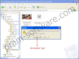 Warning Popup di Windows XP