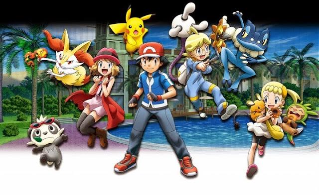 Pokémon XY (50/50) + Especiales (100MB) (HDL) (Latino) (Mega)