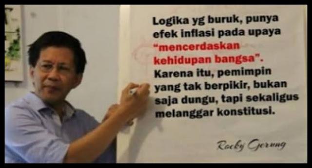 NO ROCKY, NO PARTY! The Newest Indonesian Phenomena