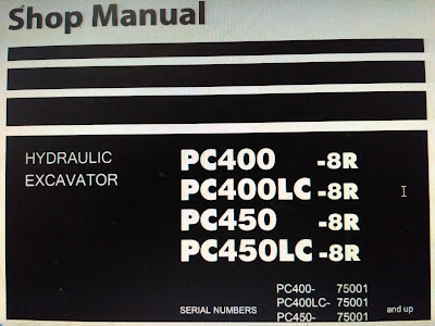PC400-8R PC400LC-8R PC450-8R PC450LC-8R SHOP MANUAL