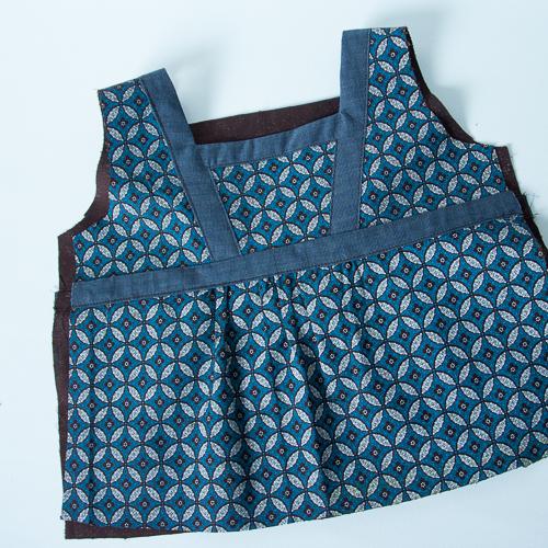 blouse encolure carrée