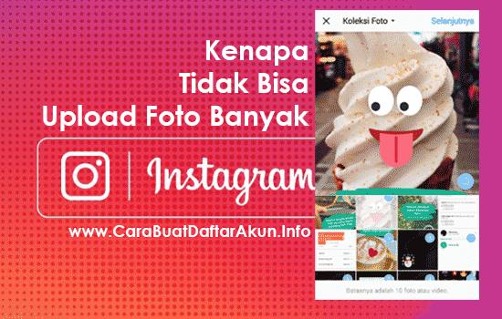 cara upload foto banyak ke instagram lewat hp