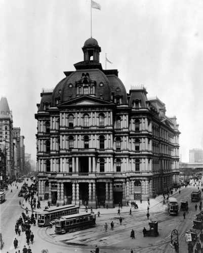 Daytonian In Manhattan: The Lost 1880 City Hall Post Office