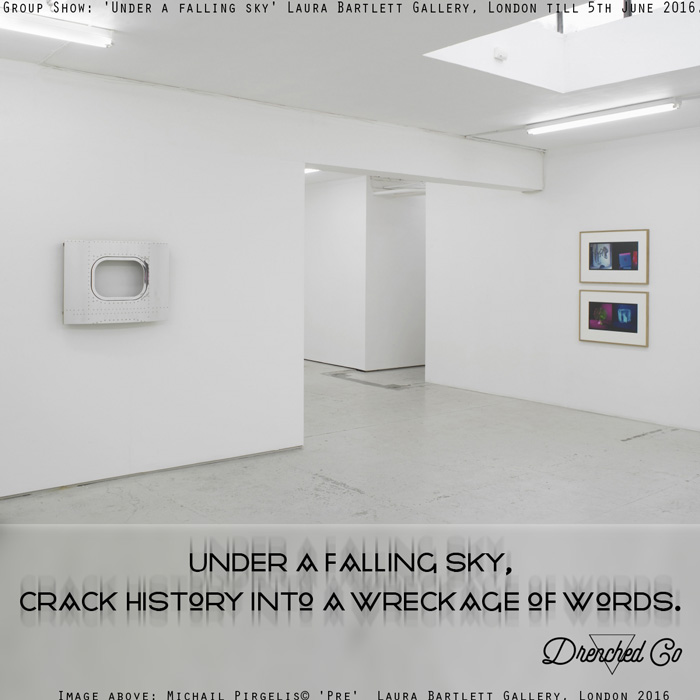 Image of Laura Bartlett Gallery, London with art exhibition review by Drenched Co.