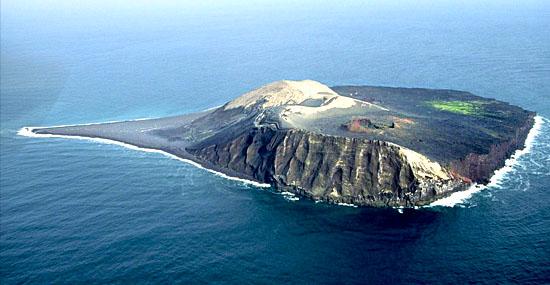 Por que é proibido fazer cocô nessa ilha 'novinha' que só surgiu em 1963 - Capa