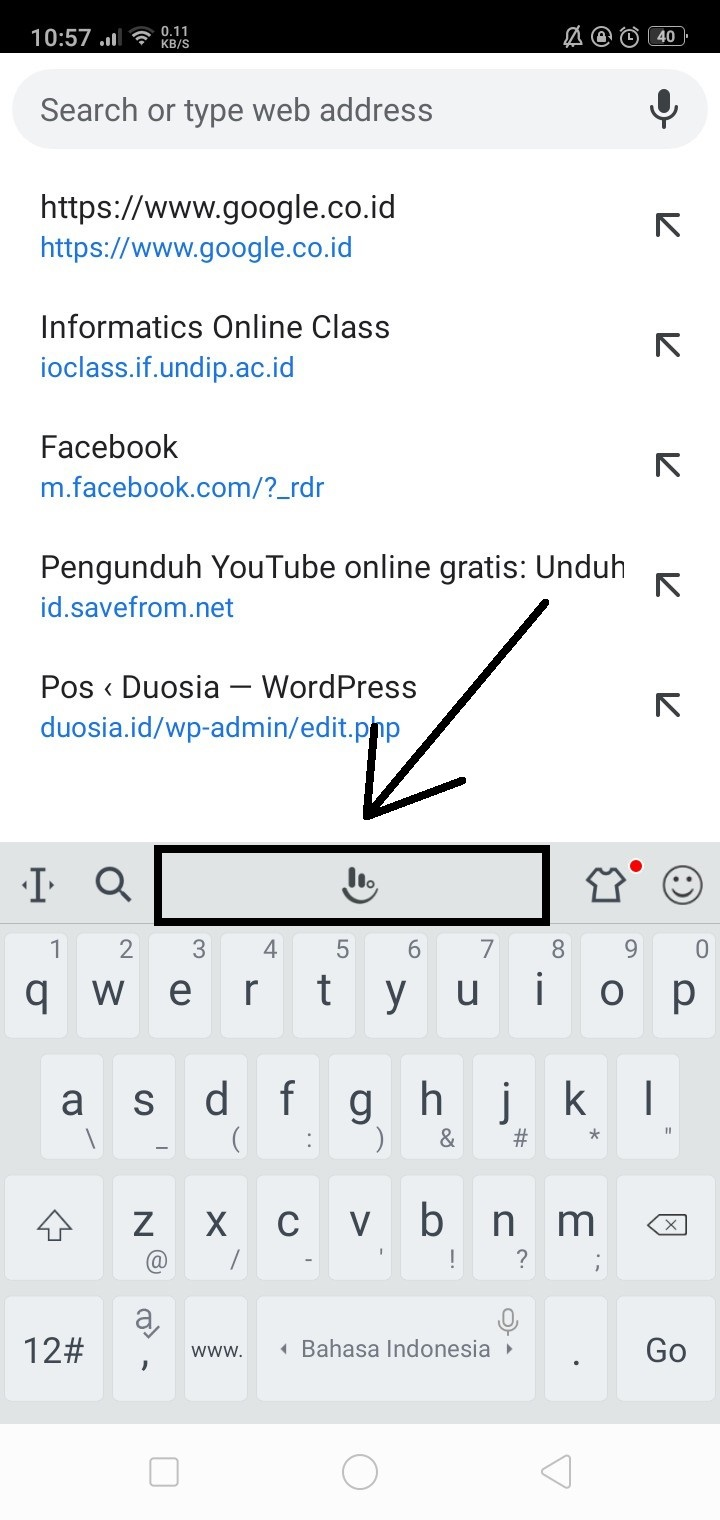 2 Cara Mengubah Keyboard Android Menjadi Huruf Arab