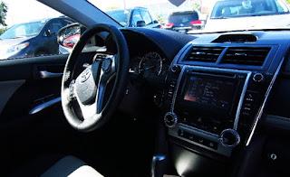 2012 Toyota Camry SE Review Interior