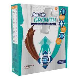 Deals on Horlicks Growth Plus - 200 g (Chocolate)