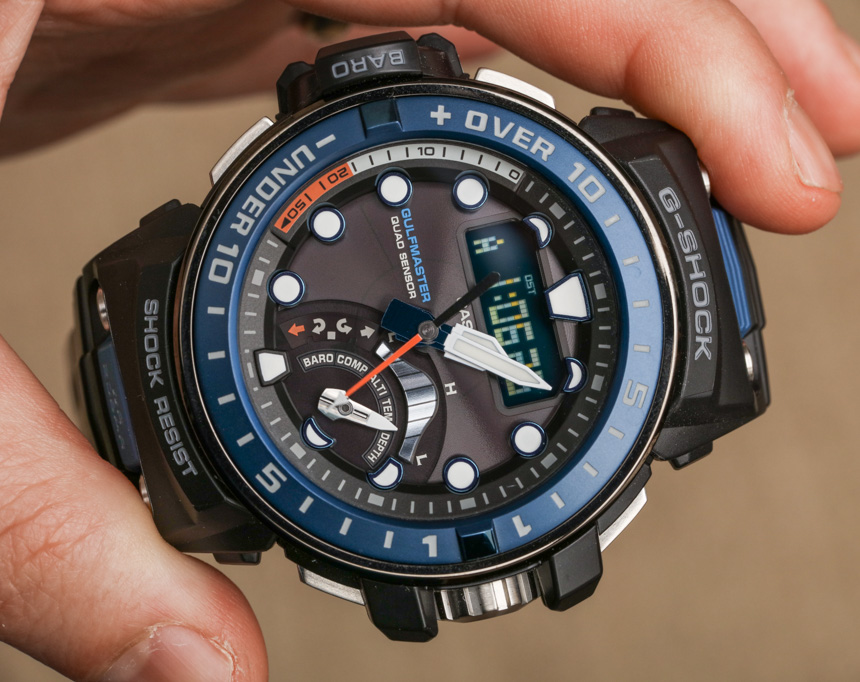c2c9836f4a4 Praticamente todas as características que você esperou em um relógio G-Shock  moderno estão aqui além do que eu mencionei acima.
