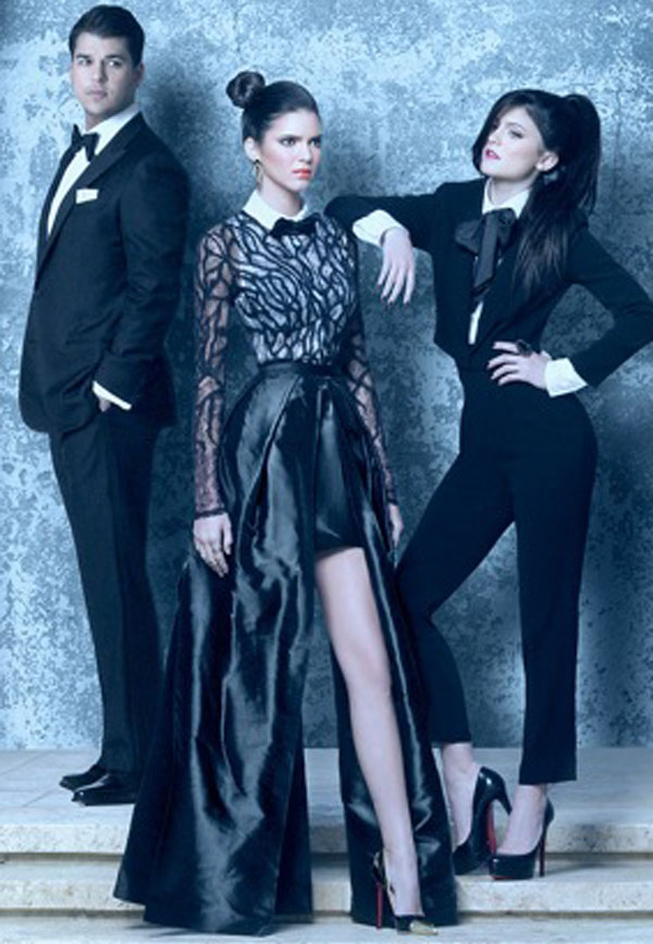 Kardashian Christmas Card 2011