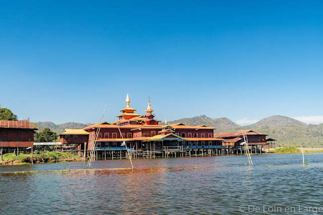 entre Lac Inle et Lac Sankar - Birmanie Myanmar