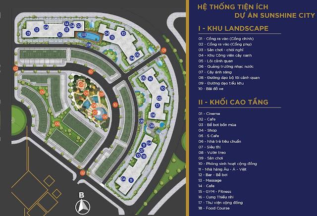Dự án chung cư Sunshine City Ciputra Tây Hồ Hà Nội