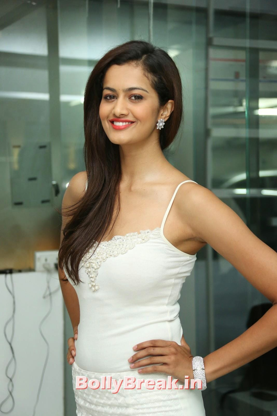 , Shubra Aiyappa Hot Photo Gallery 2014 - Dress Without Sleeves
