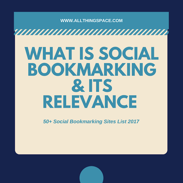 50+ Dofollow Social Bookmarking Sites List 2017