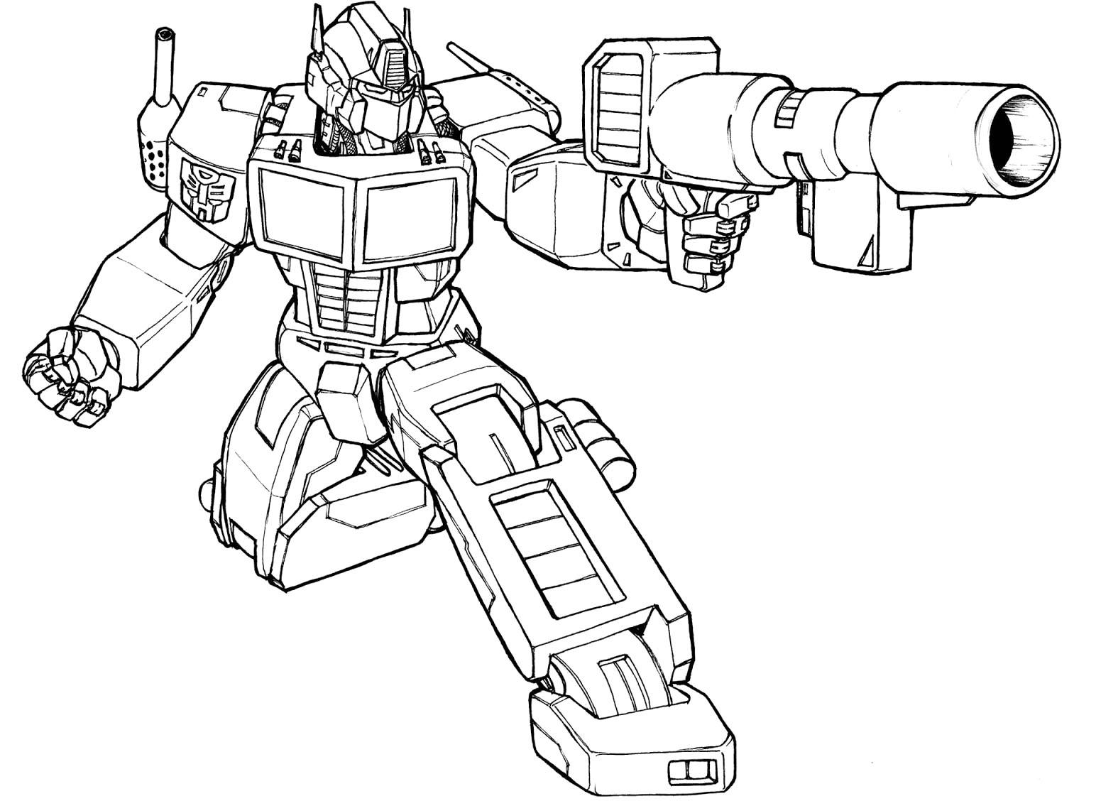 Desenhos Para Colorir Dos Transformers