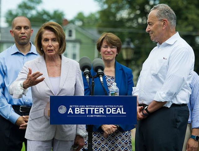 Nancy Pelosi Chuck Schumer A Better Deal