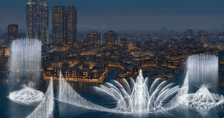 Dubai Water Fountain