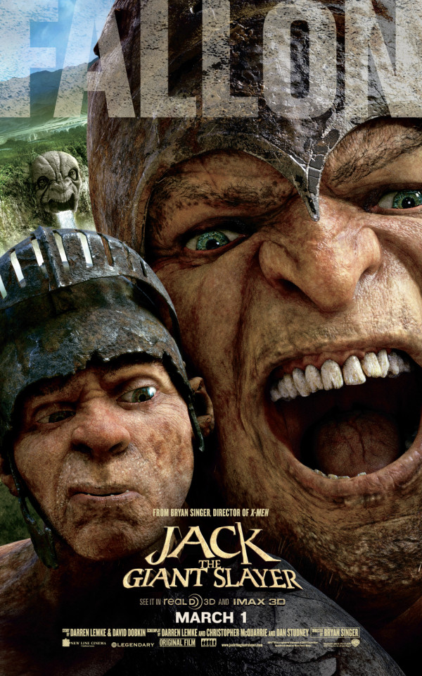 Fee. Fye. Foe. Fumm. Fallon? 'Jack the Giant Slayer' Gets ...