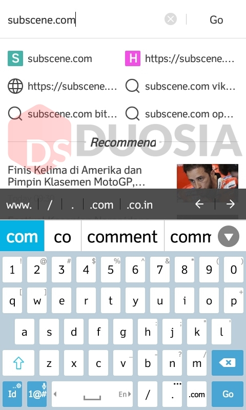 cara mudah download di subscene pada android